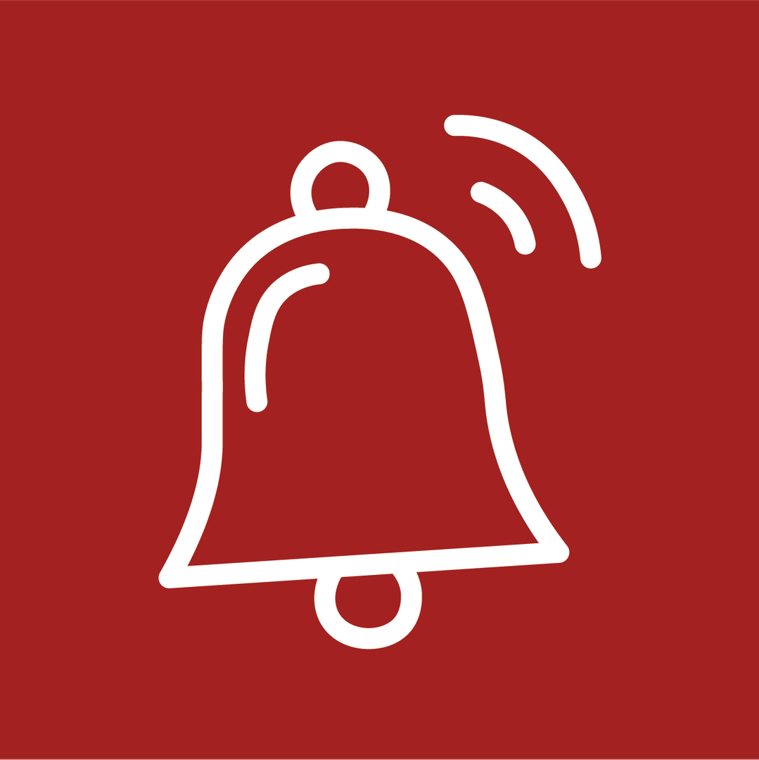 Bell ringing icon