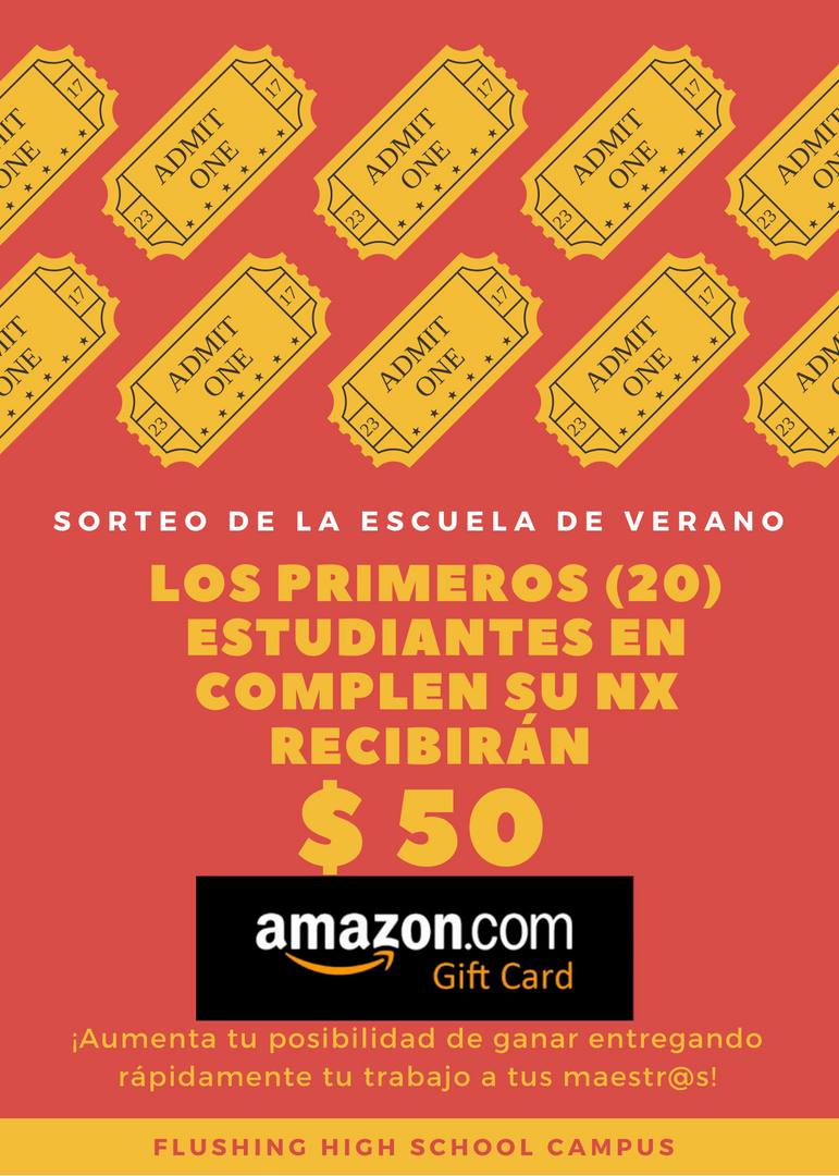 student incentive flyer (spanish)