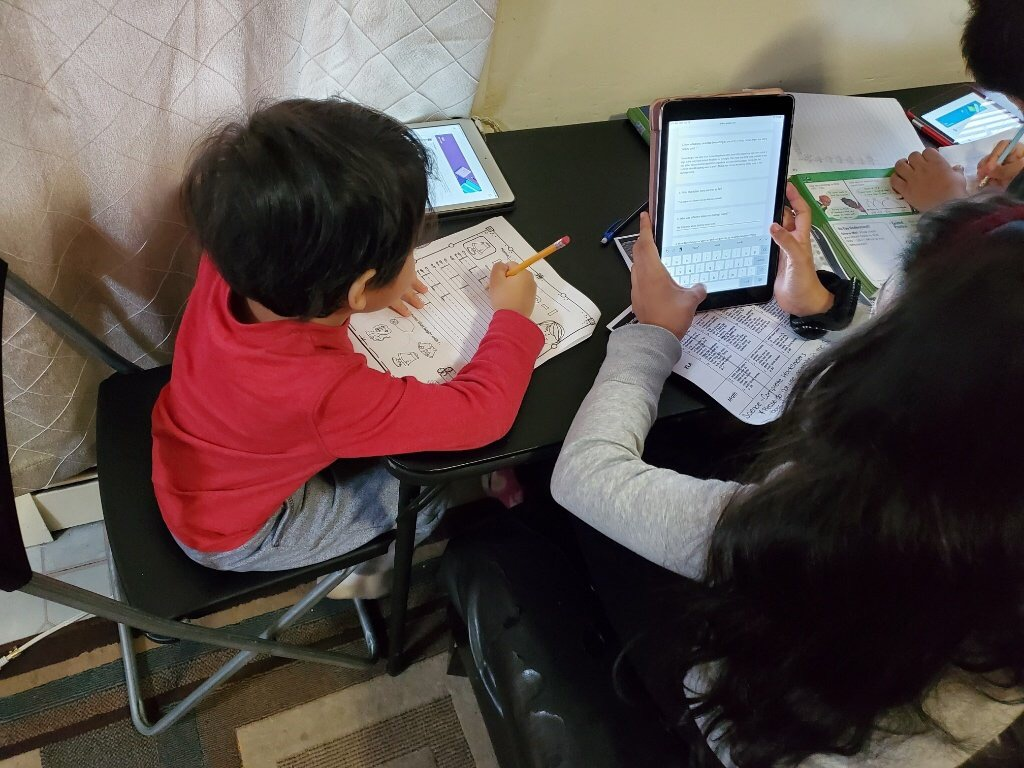 Family Learning Remotely