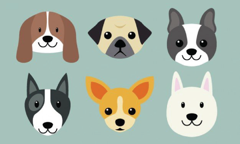Puppies cartoon