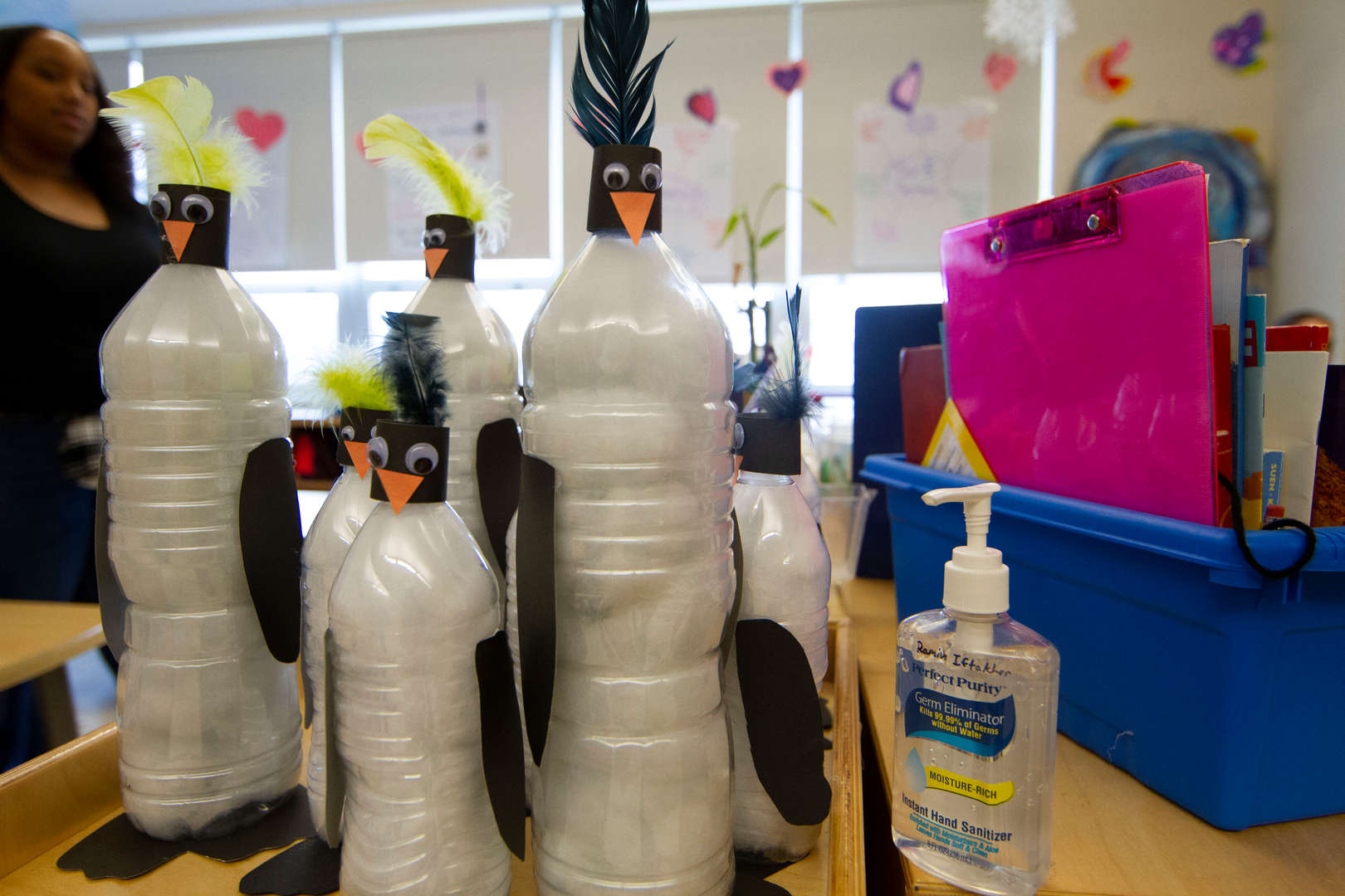 Bird water bottles!