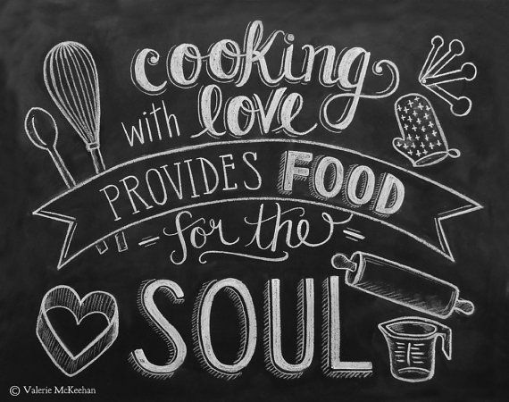 Cooking with Love Provides Food for the Soul