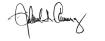 Richard A. Carranza's Signature