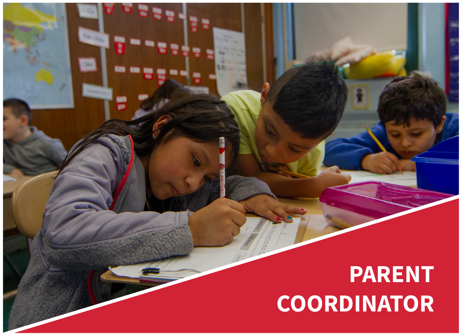 Parent Coordinator: students working together
