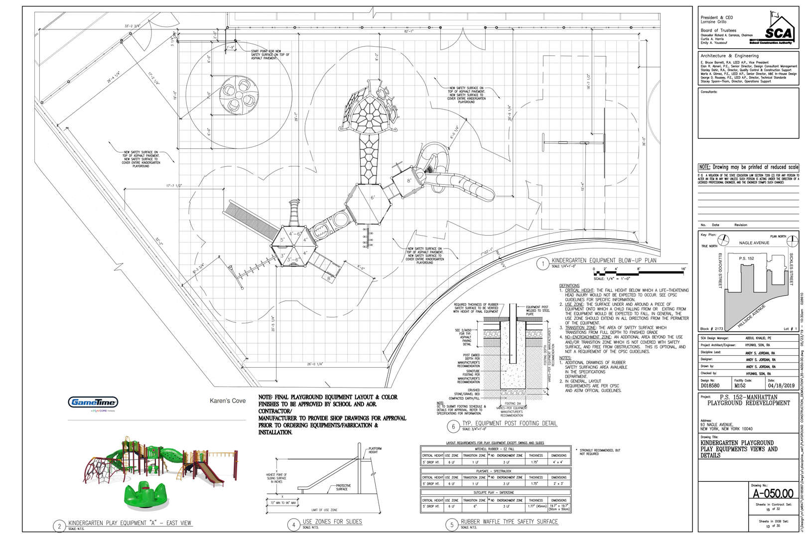 Playground blueprint