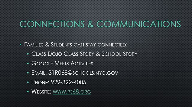 Stay connected with school
