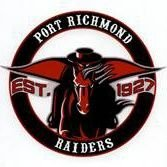Port Richmond Raiders logo