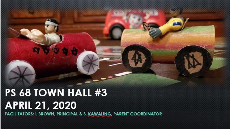 Town Hall #3 April 21, 2020