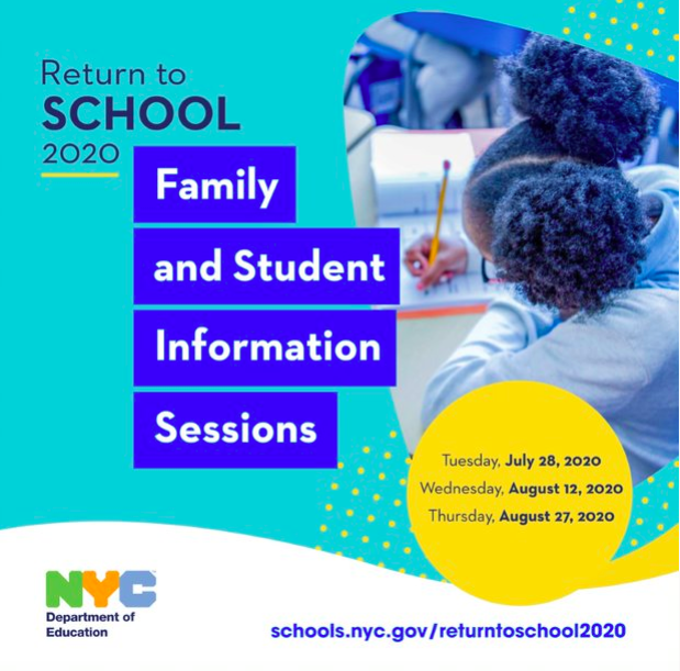 Flyer for Return to school