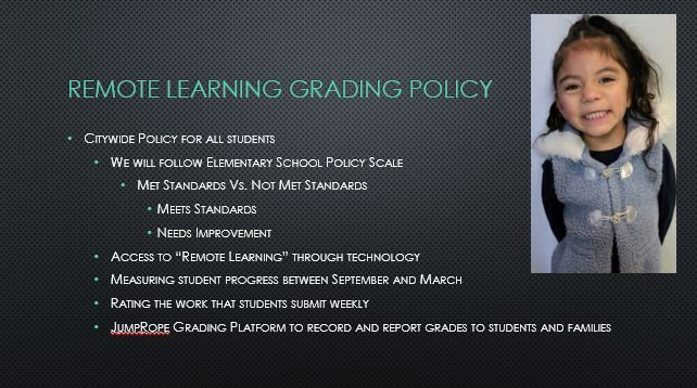 Remote Learning Grading Policy