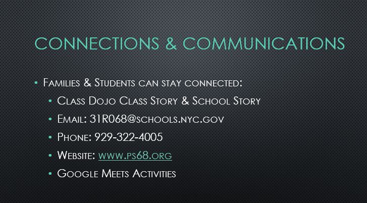 Families & Students can stay connected