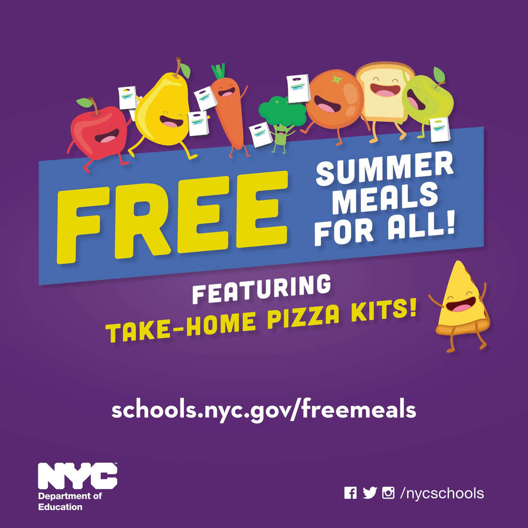 Free Summer Meals DOE picture