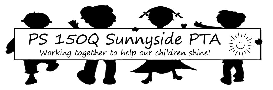 P.S. 150Q Sunnyside PTA Logo