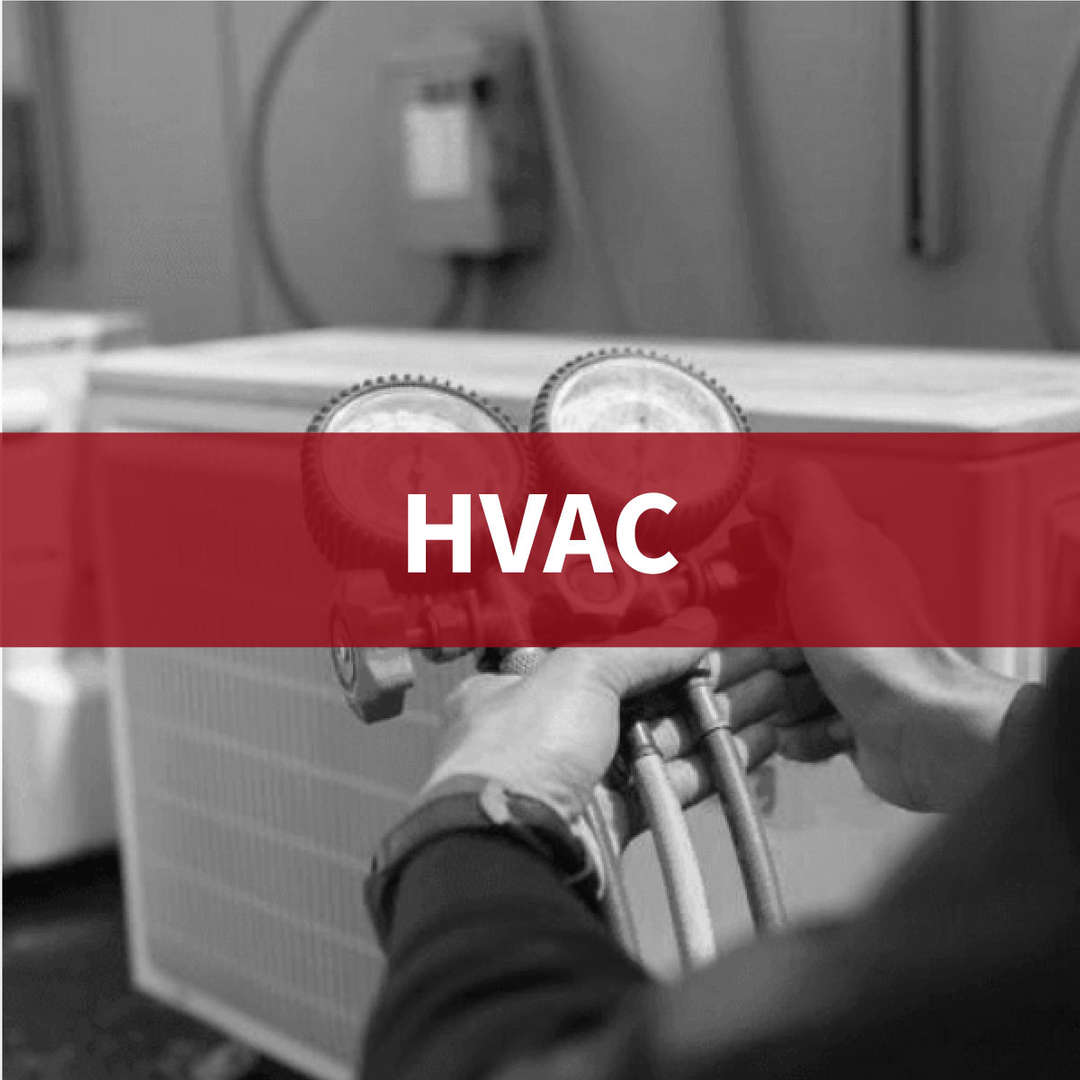 HVAC: student working on project