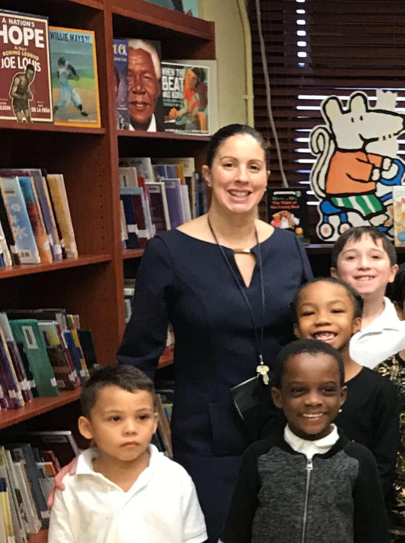 asst principal and kids