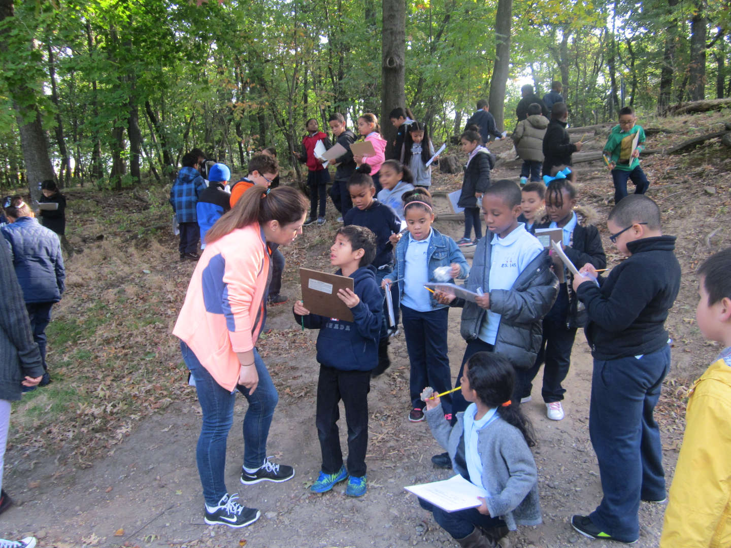 Our 2nd Grade uses Central Park as a science lab.