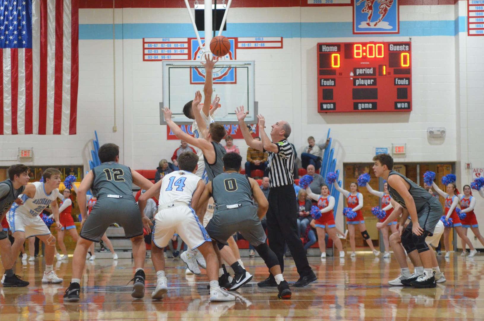 Maconaquah Basketball at TipOff