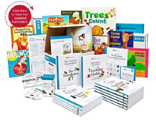 An assortment of The Creative Curriculum books