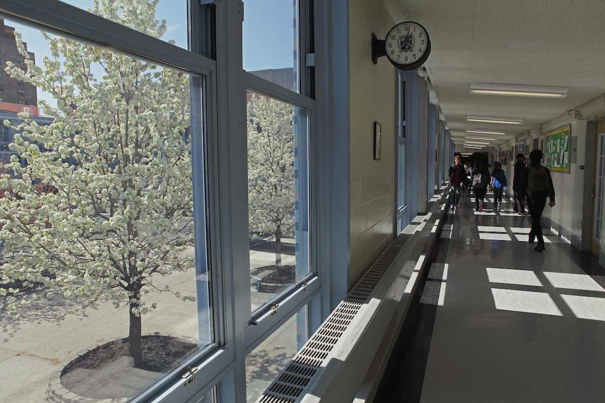 NEST+m hallway