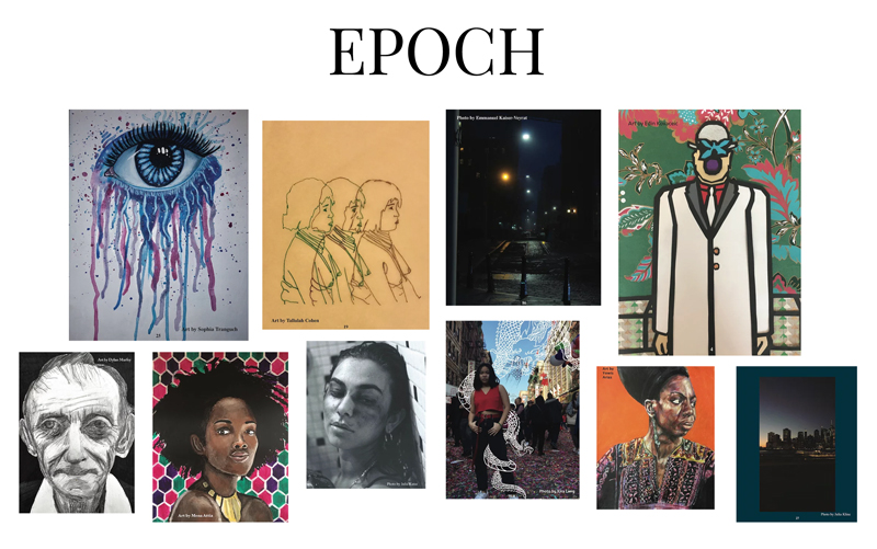 Epoch literary magazine