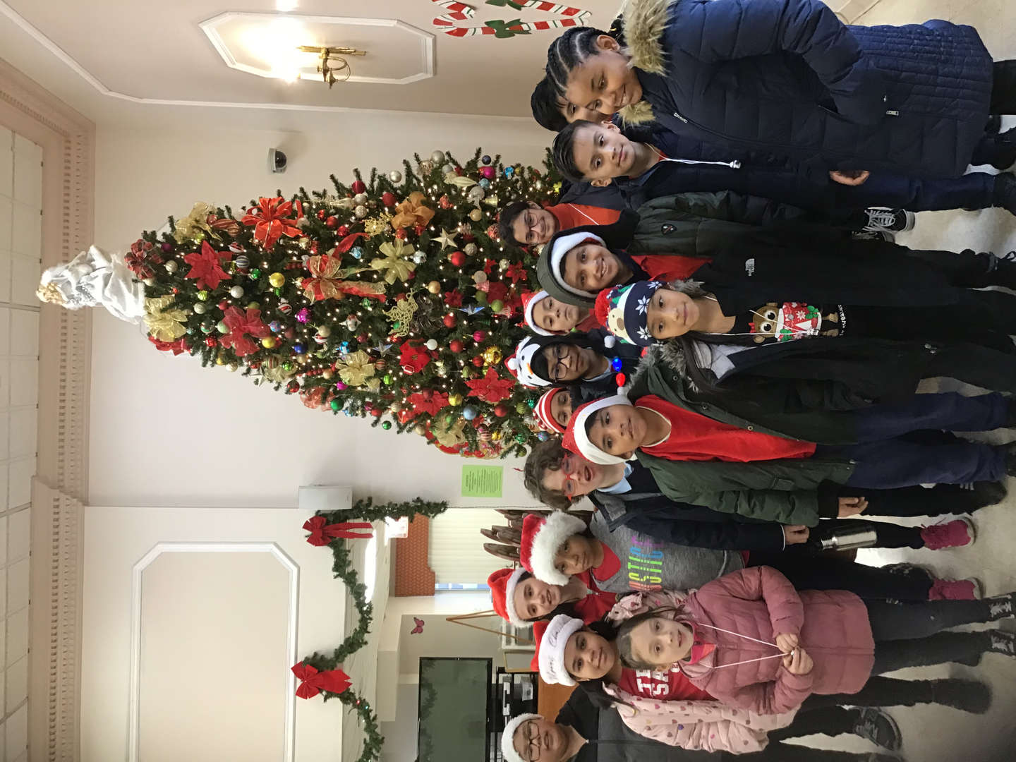 Holiday Caroling at Nursing Home