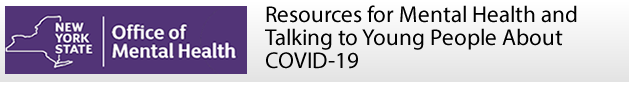 Resources for Mental Health and Talking about COVID