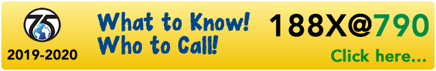 188X@790: What to Know! Who to Call! banner