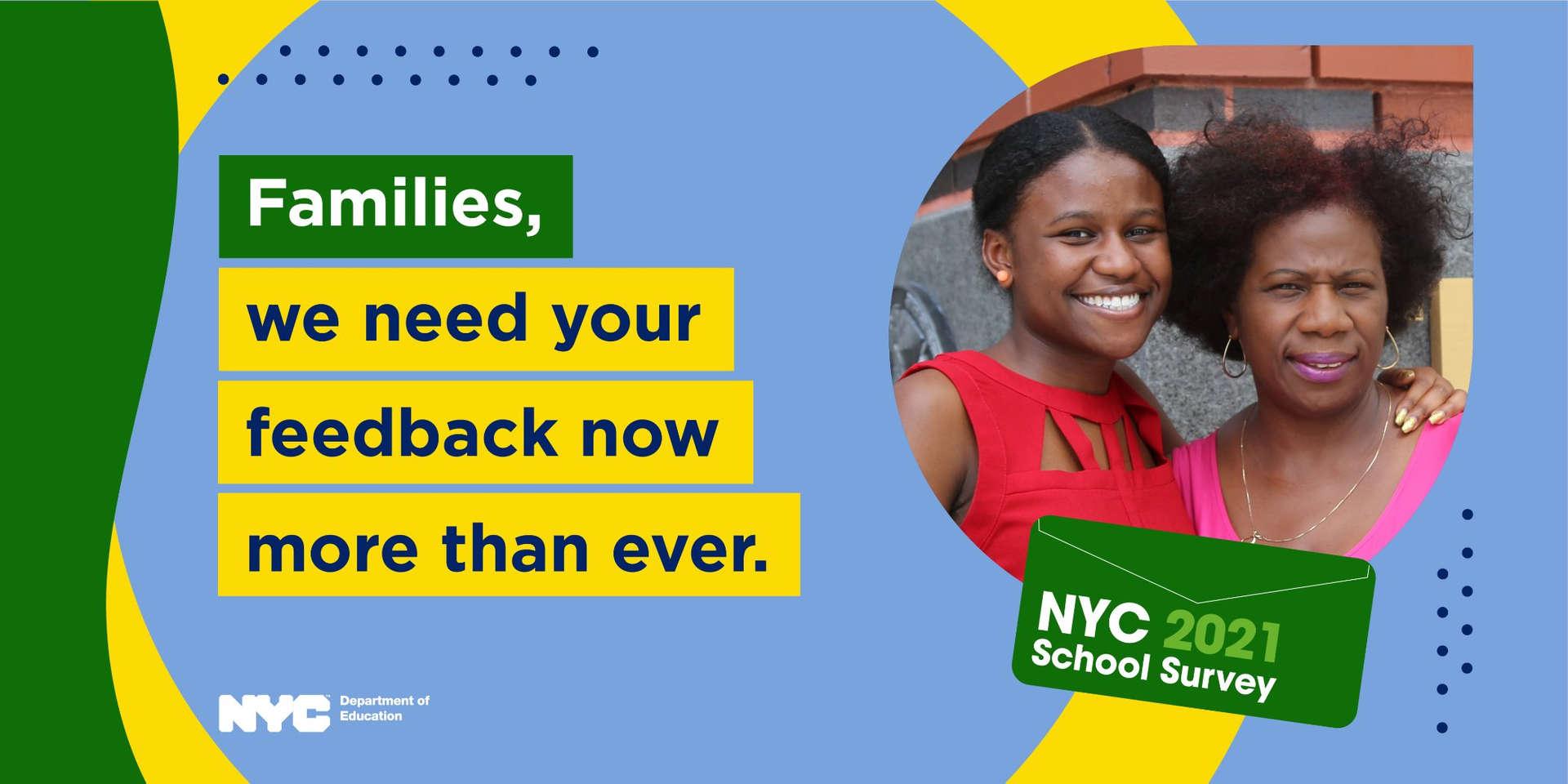 NYC School Survey Poster