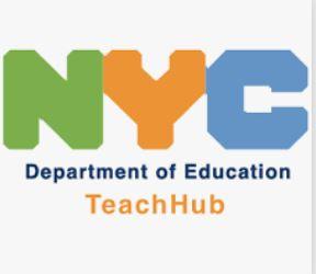 nyc teach hub poster