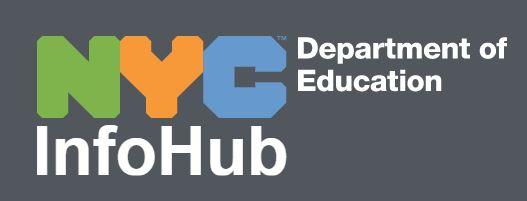 nyc info hub poster