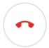 Google hang up button