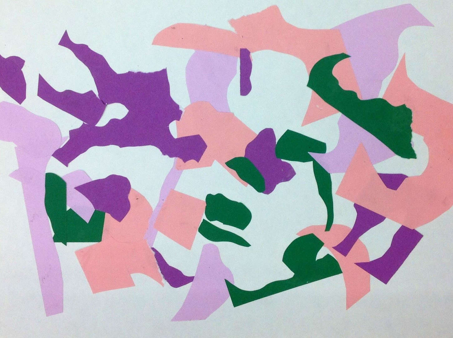 Abstract pastel artwork