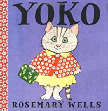 book cover of a character named yoko