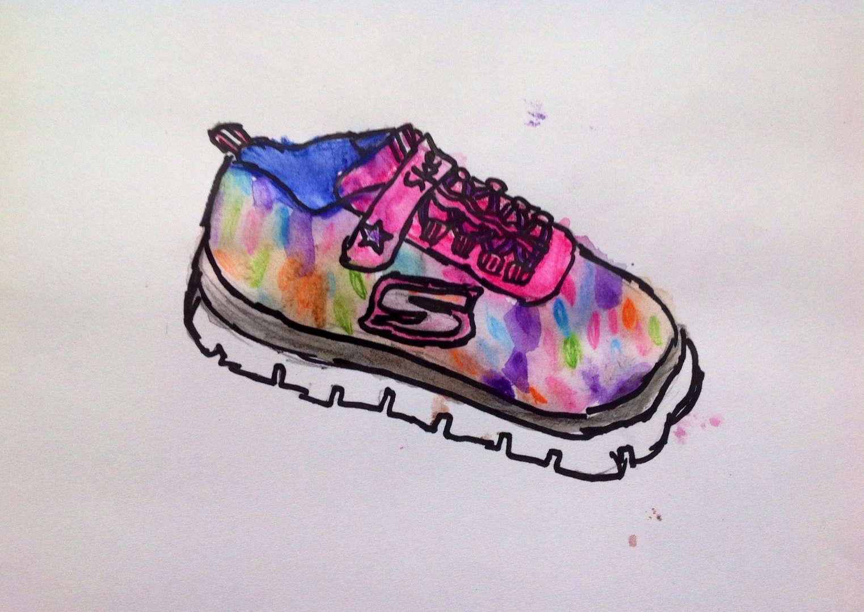 Shoe artwork Sketchers