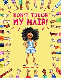 book cover with a girl and big hair