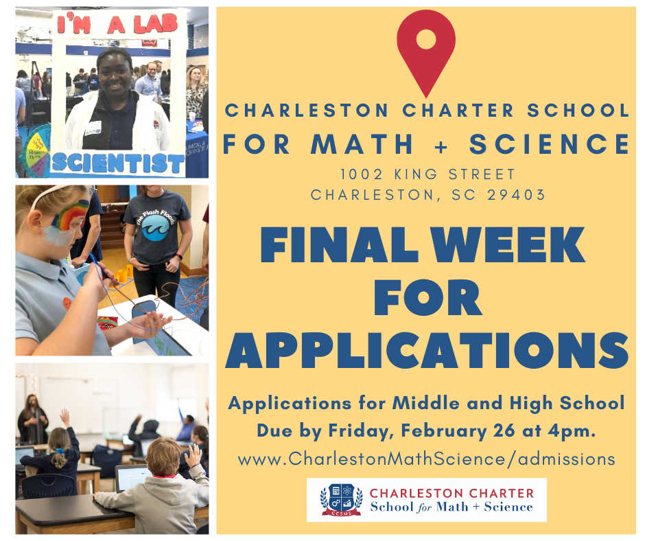 Final Week for applications
