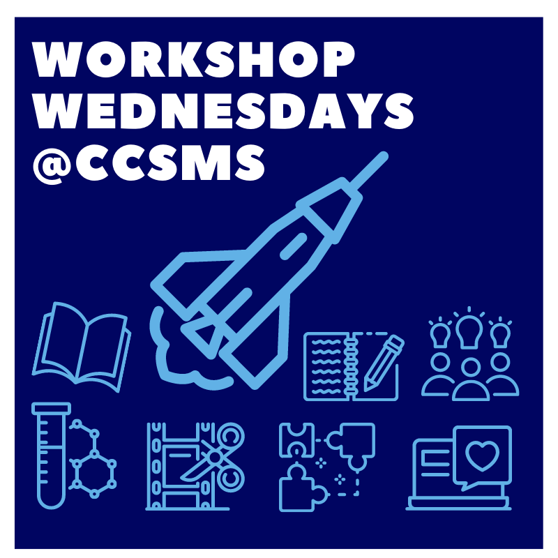 Workshop Wednesday at CCSMS logo