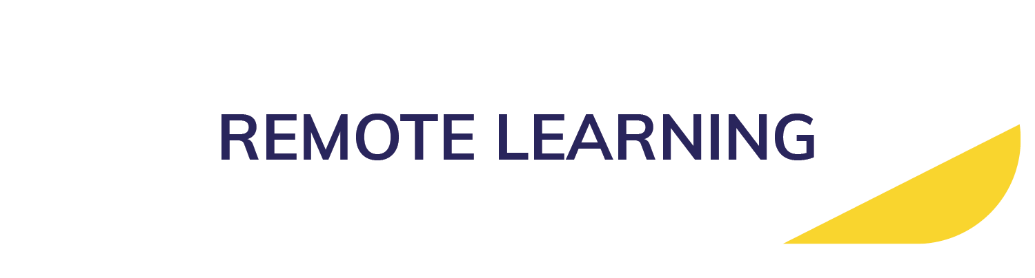 Remote Learning button