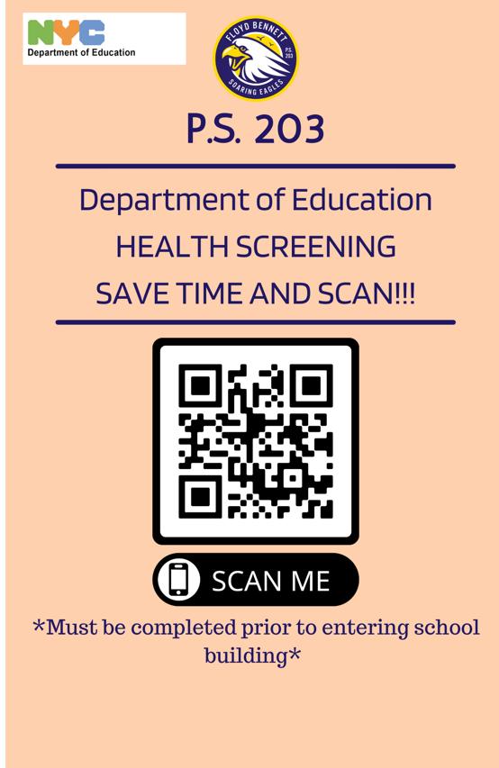 QR Health Screening