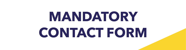 Mandatory Contact Form