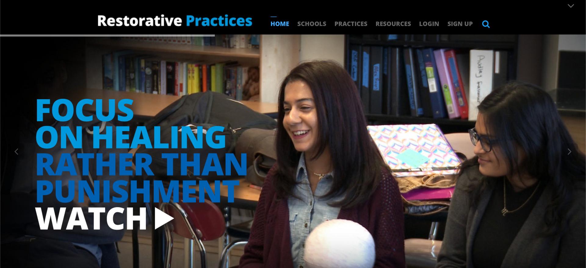 Restorative Practices: Focus on Healing Rather Than Punishment