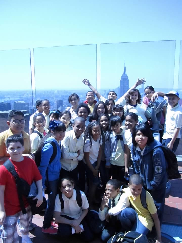 Students at the Top of the Rock Observatory