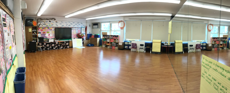 School dancing room