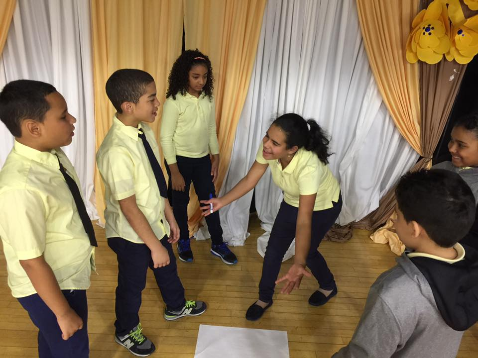 5th Grade Students in Shakespeare Program