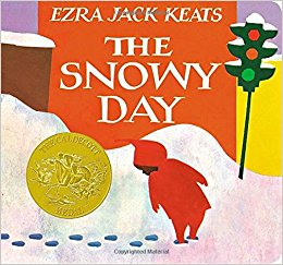 The Snowy Day Book Cover by Ezra Jack Keats
