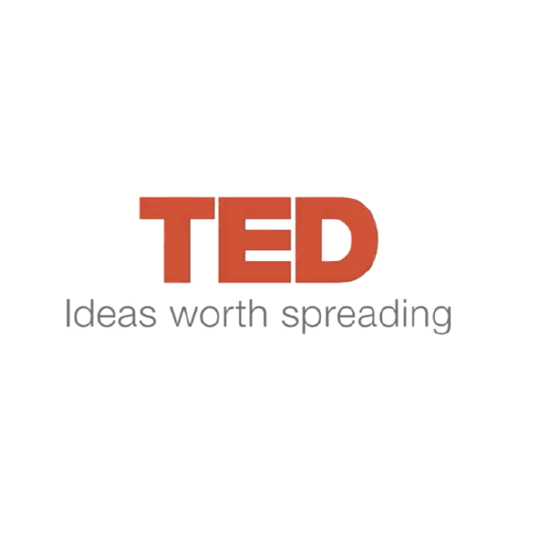 """TED: Ideas worth spreading"" logo"