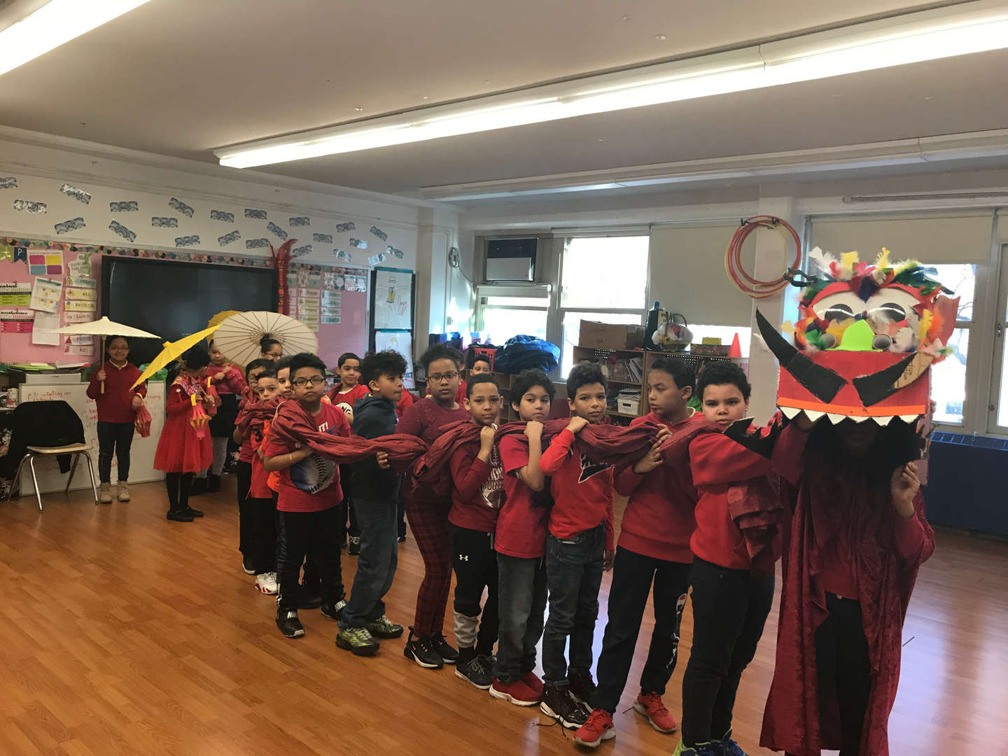 Dragon Parade to Celebrate Lunar New Year