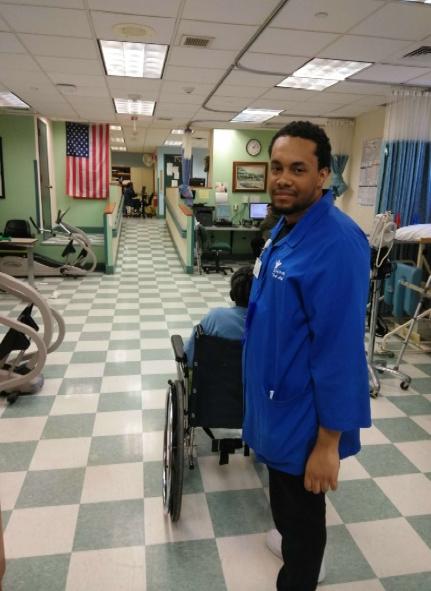 Participating in the Schervier Rehab and Nursing Center program