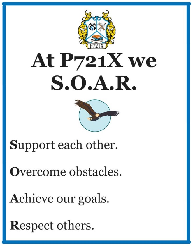 SOAR Poster with the S.O.A.R. acronym