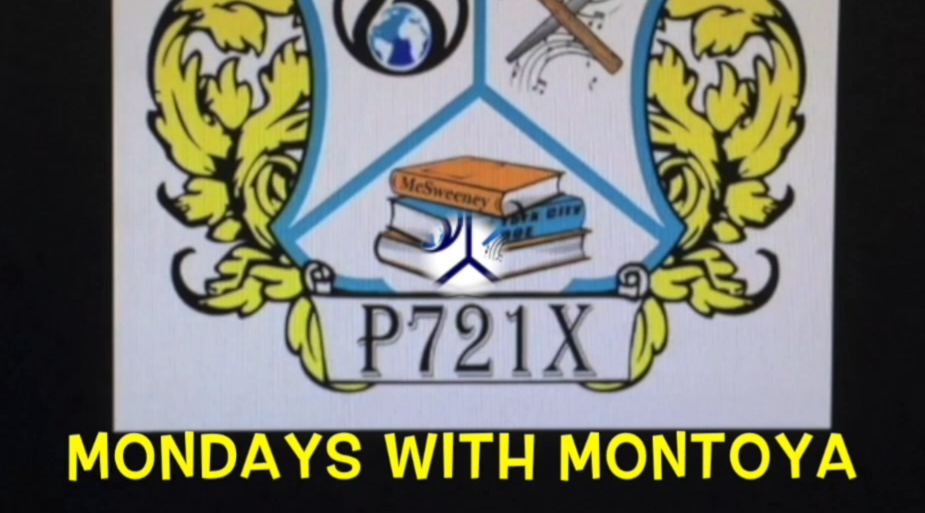 P721X crest with Mondays with Montoya title